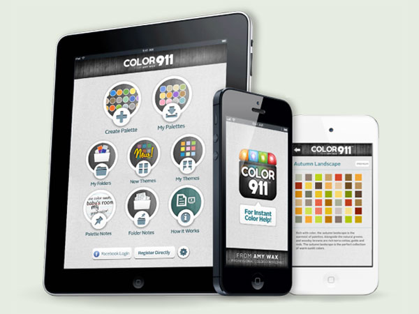 Finishing Touches App: Color 911 from the TOH Top 100 Best New Home Products 2013