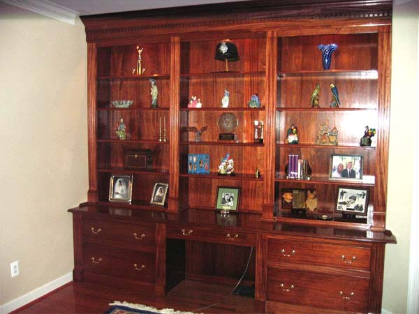 An Impressive Built-in Bookshelf: After from this old house reader remodel Best Built-Ins Before and Afters 2013