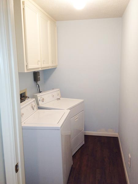 A Laundry Room Surprise: Before from this old house reader remodel Best Built-Ins Before and Afters 2013