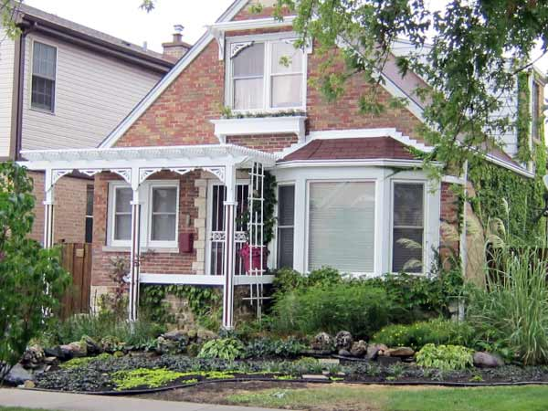 Pergola and Plants: After from this old house reader remodel Best Built-Ins Before and Afters 2013