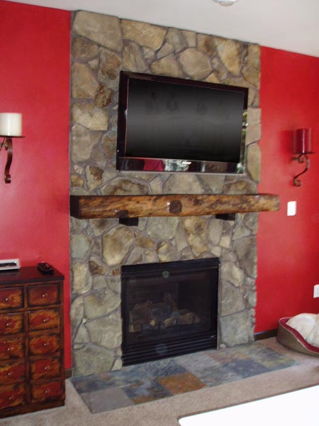 Complete Fireplace Surround Remodel: After from this old house reader remodel Best Built-Ins Before and Afters 2013