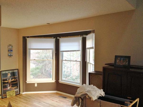 A Beautiful Bay-Window Built-In: Before from this old house reader remodel Best Built-Ins Before and Afters 2013