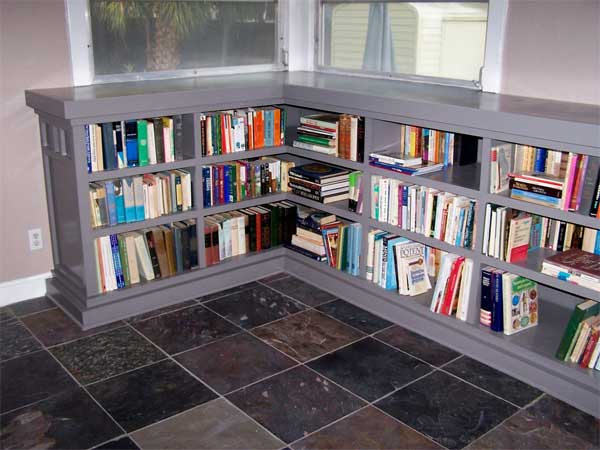 Built-in Bungalow Bookcase: After from this old house reader remodel Best Built-Ins Before and Afters 2013