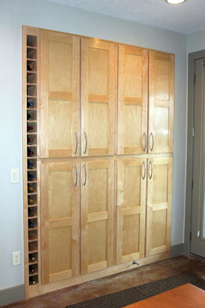 Built-ins Borrow Space From Utility Room this old house reader remodel pantries contest 2013