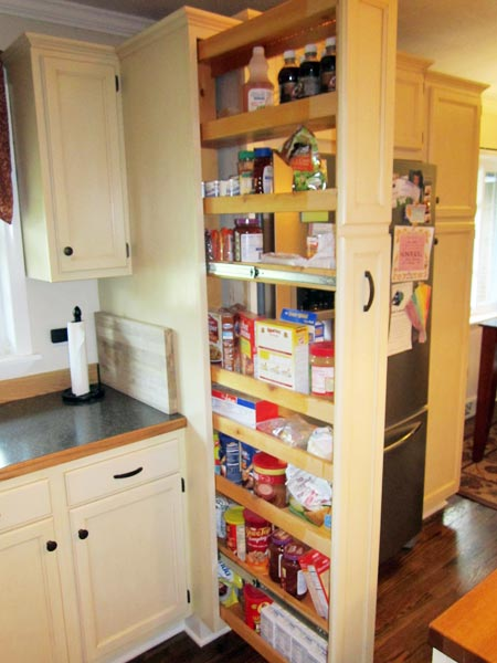 Concealed Pantry Maximizes Space this old house reader remodel pantries contest 2013