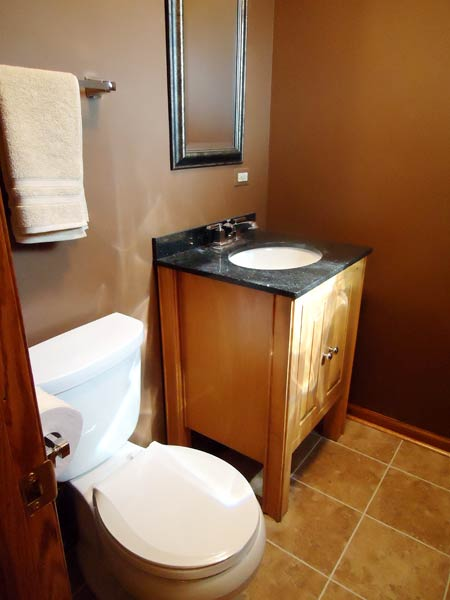 A More Functional Use Of Space After Best Powder Room