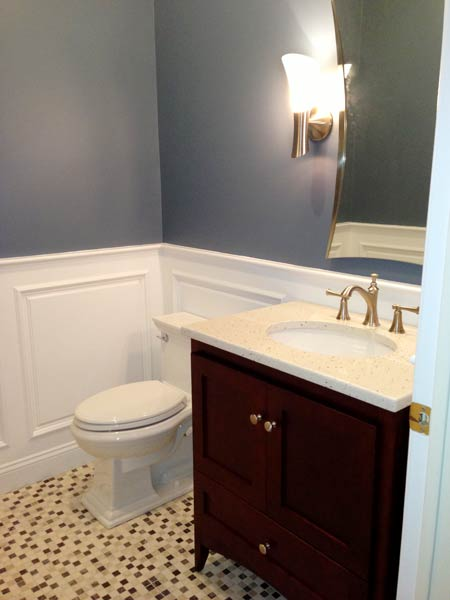 Powder Room to be Proud of: After reader remodel contest 2013 half bath remodels