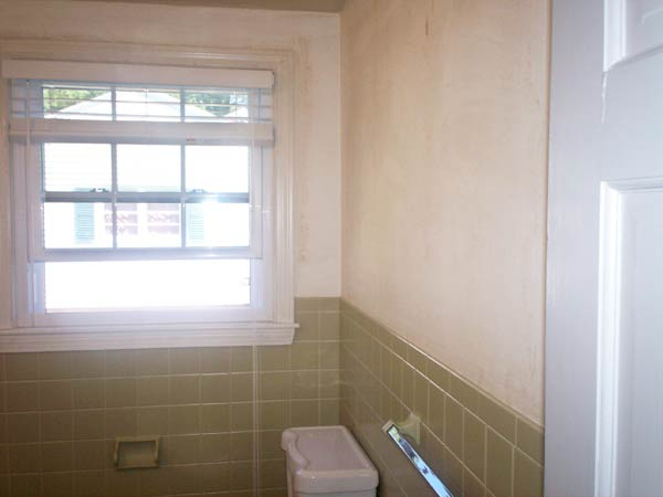 Outdated Bathroom Now a Serene Space: Before reader remodel contest 2013 half bath remodels