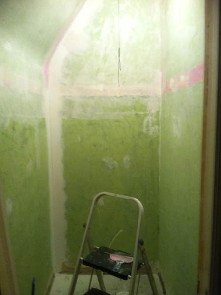 Custom Fixture Maximizes Space: Before reader remodel contest 2013 half bath remodels