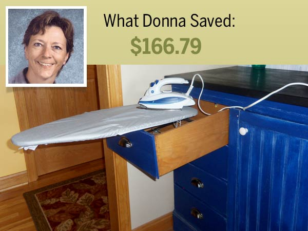 homeowner Donna Brown and her cost-saving shortcut