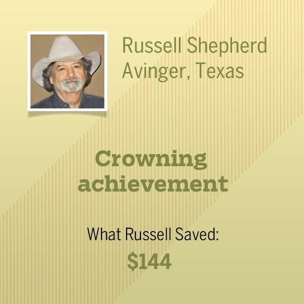 homeowner Russell Shepherd and title