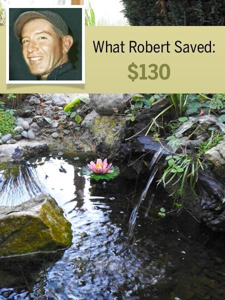 homeowner Robert Moeller and his cost-saving shortcut