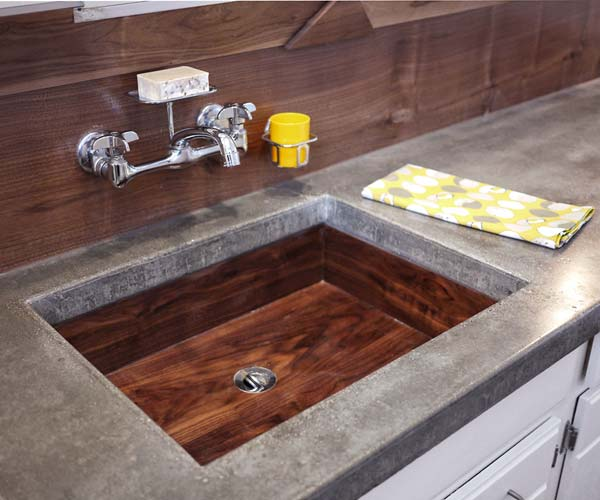 reclaimed walnut bathroom sink unique reader upgrades from reader remodel contest 2013