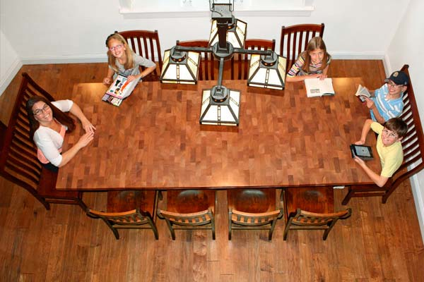 diy butcher block dining room table unique reader upgrades from reader remodel contest 2013