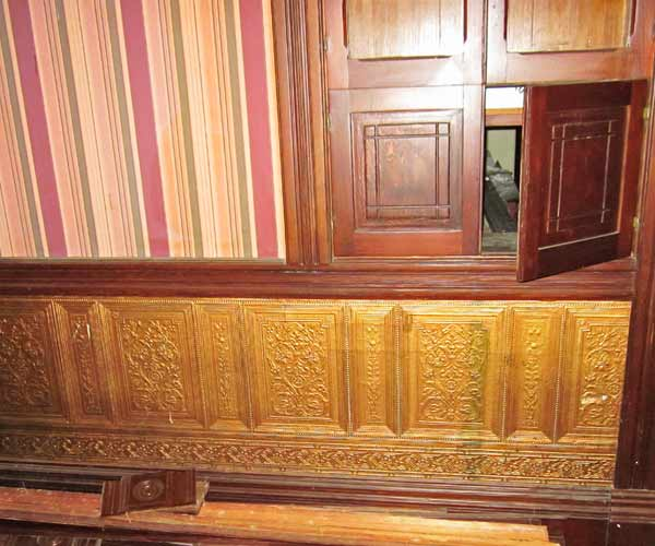 save this old house riverside california stick style queen anne mansion with lincrusta paneling and chair rail molding