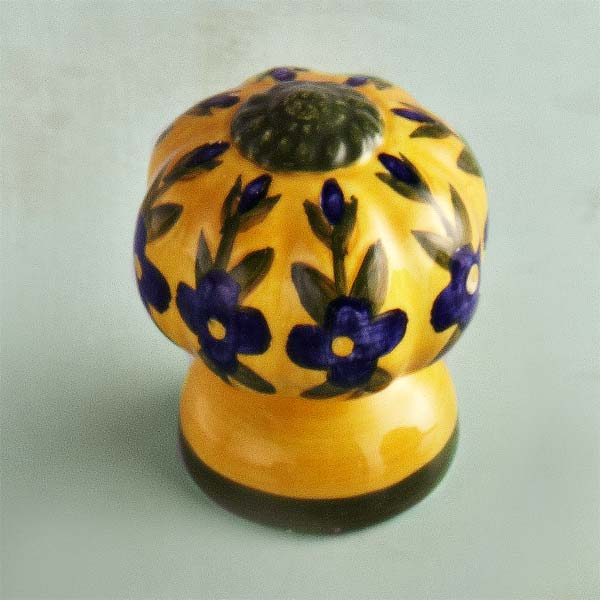 French Provincial  Ceramic Cabinet Knob