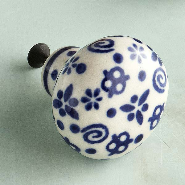 Stoneware Style Ceramic Cabinet Knob