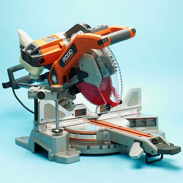 Ridgid MS255SR Sliding Compound Miter Saws from TOH Tool Tested
