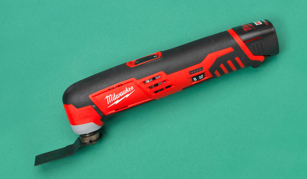 a Milwaukee oscillating tool