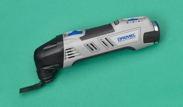 a Dremel oscillating tool