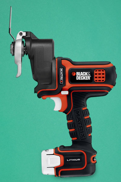 a Black & Decker oscillating tool