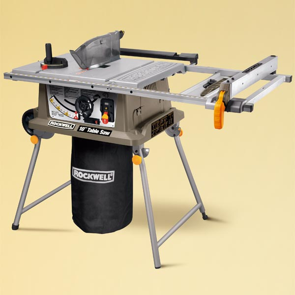 Rockwell RK7241S TOH Tested Portable Table Saw