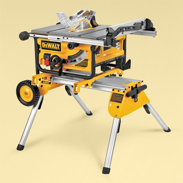 DeWalt DW745 TOH Tested Portable Table Saw