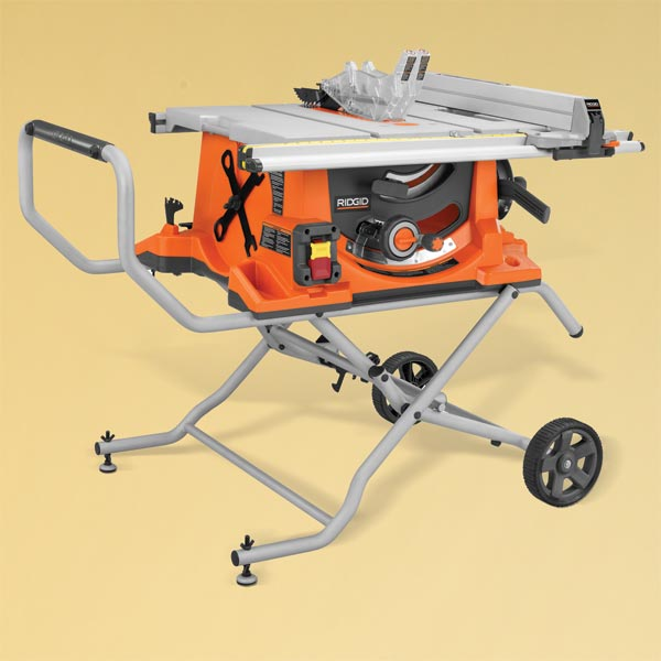 Ridgid 4510 TOH Tested Portable Table Saw