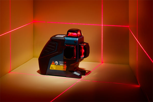 example of a three plane Laser Level for TOH Tool Test