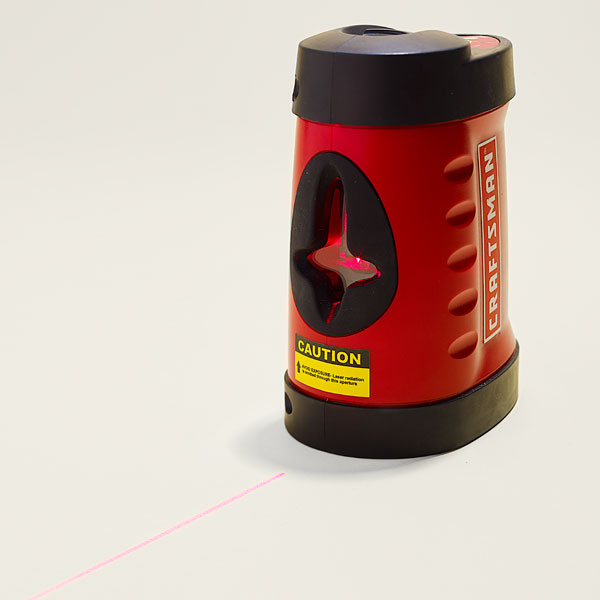 example of a cross Laser Level for TOH Tool Test