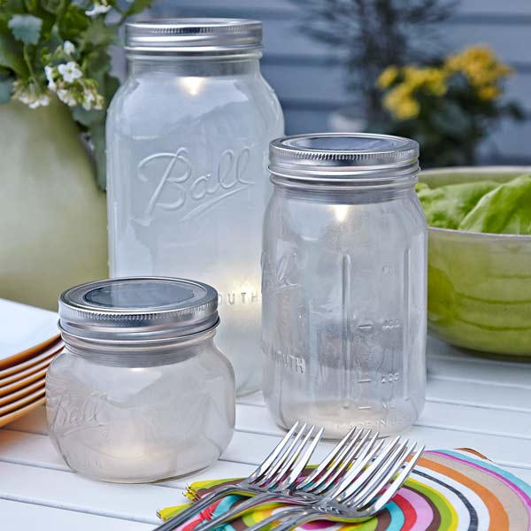 exterior lights made from mason jars for outdoor lighting for backyard party