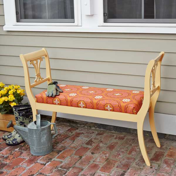 Make An Outdoor Bench From Dining Chairs Get Your