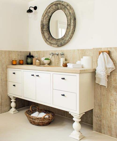 18 Whitewashed Barn Wood 20 Budget Friendly Bath Ideas This Old House