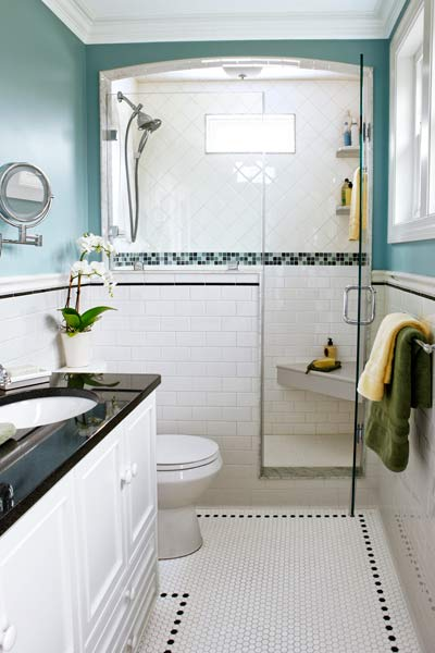 look into the shower 23 savvy and inspiring small bath best before and after bathroom remodels from this old house