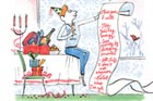 illustration of DIYer with to do list full of new year's resolutions
