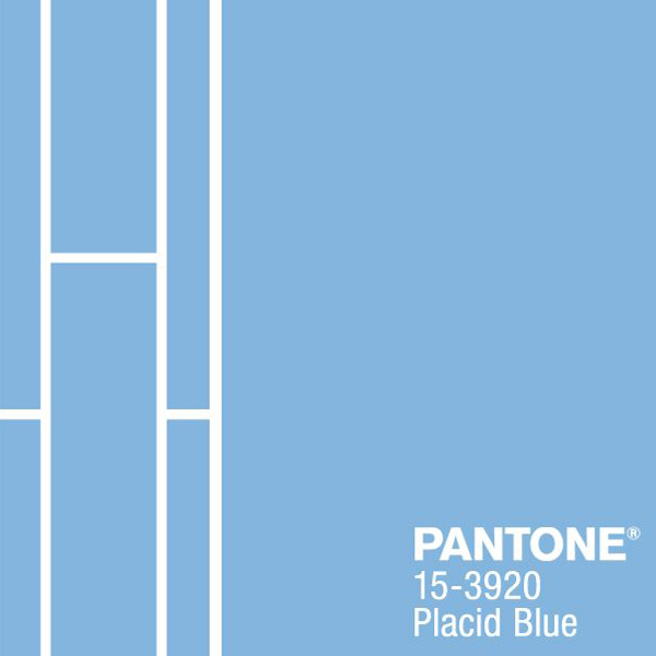 pantone placid blue color of the month february 2014
