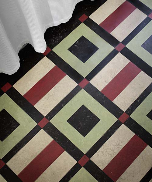 Accessibly Priced Linoleum Rugs