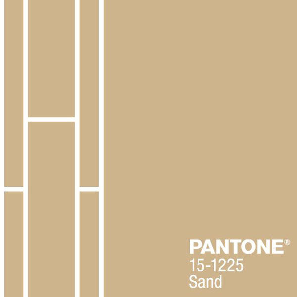 pantone sand, color of the month july 2014
