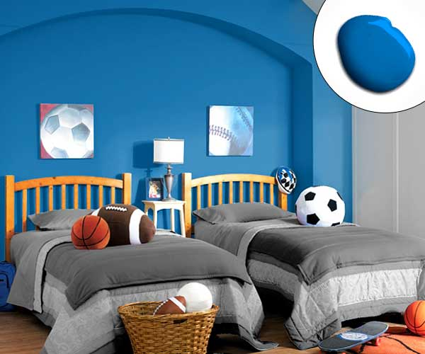 Kids Room Color Schemes: Color Of The Month, August 2014: Bright