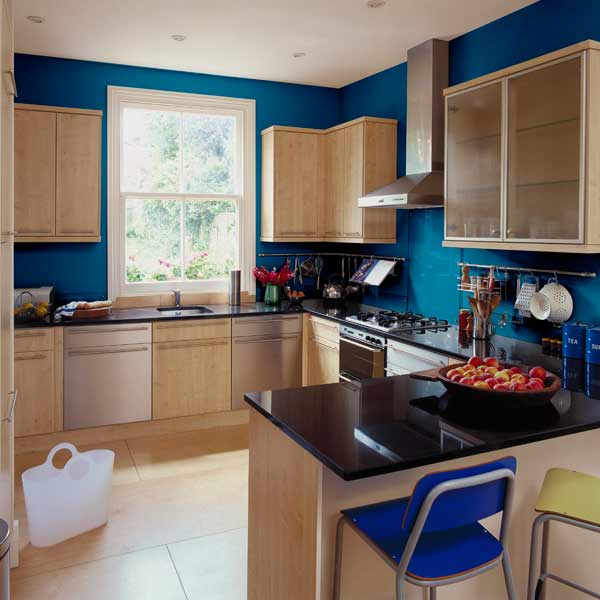 This Old House Kitchen Cabinets: Colorfully Framed Kitchen Cabinets