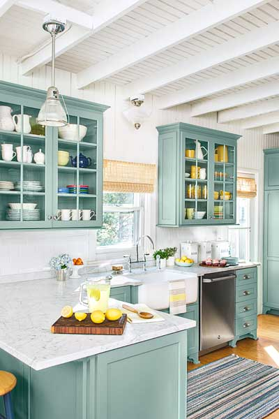 Long distance beauty after from musty to must see for Beach house kitchen plans