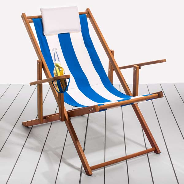 Nautical Classic Folding Deck Chairs