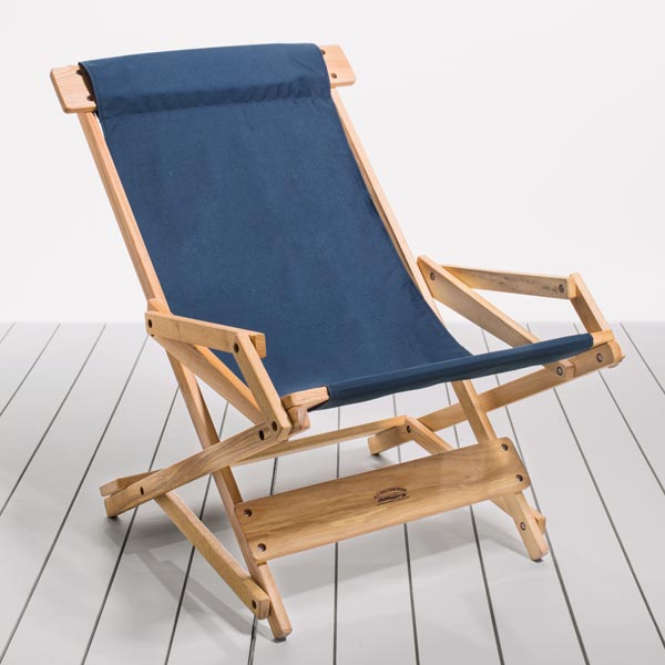 Recliner Style Folding Deck Chairs