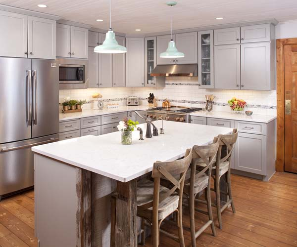 Old Kitchen Before And After: Modern Country Kitchen: After