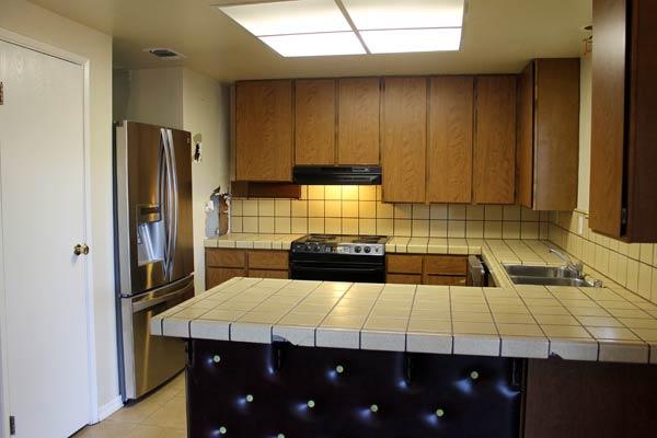Duplex gets a designer kitchen before best kitchen for American kitchen cabinets placerville