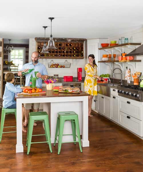 Old Home Kitchen Remodel: One-Room Wonder Best Remodel