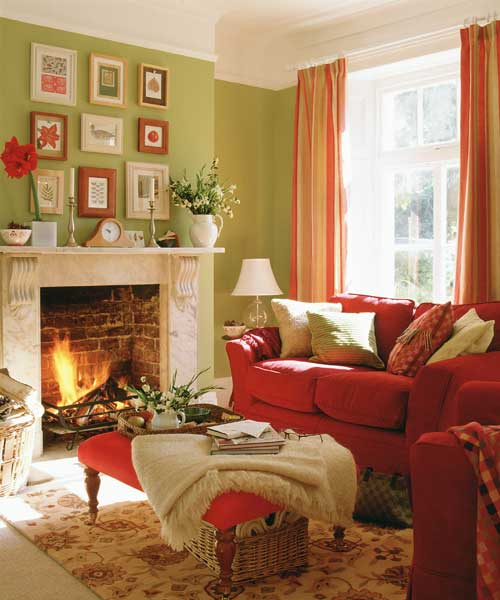 Updating a Classic | Create a Traditional Living Room ...