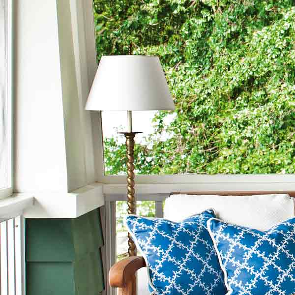 Plug in a Floor Lamp for easy staycation escape upgrades
