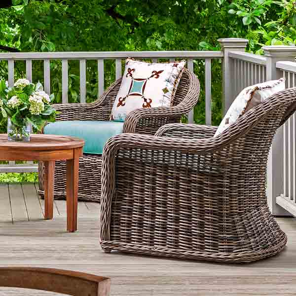 Try Classic, All-Weather Furniture for easy staycation escape upgrades
