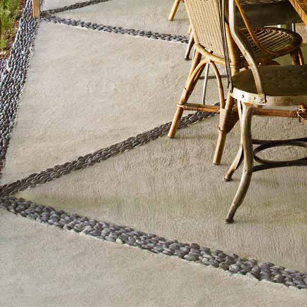 Pattern the Floor for easy staycation escape upgrades
